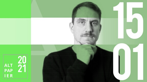Teasergrafik Altpapier vom 15. Januar 2021: Porträt Autor Ralf Heimann