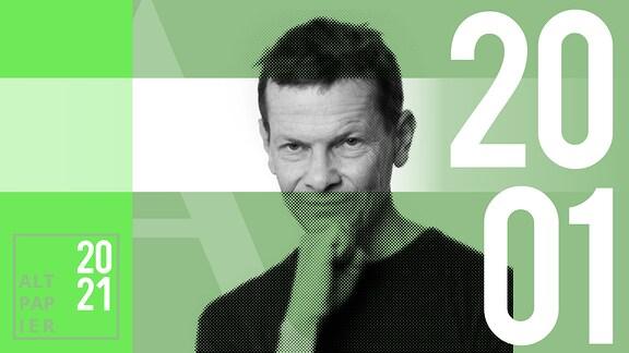 Teasergrafik Altpapier vom 20. Januar 2020: Porträt Autor Christian Bartels