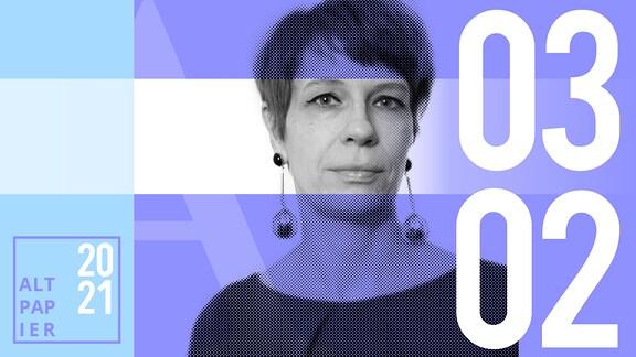 Teasergrafik Altpapier vom 3. Februar 2021: Porträt Autorin Jenni Zylka
