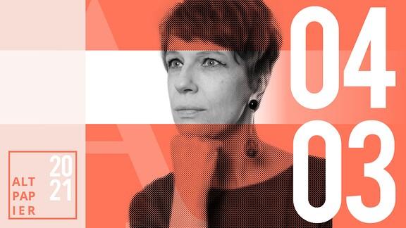Teasergrafik Altpapier vom 4. März 2021: Porträt Autorin Jenni Zylka