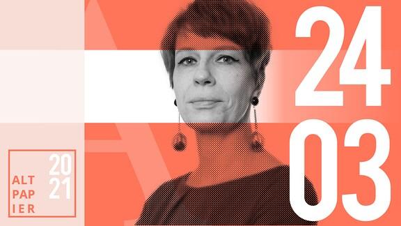 Teasergrafik Altpapier vom 24. März 2021: Porträt Autorin Jenni Zylka