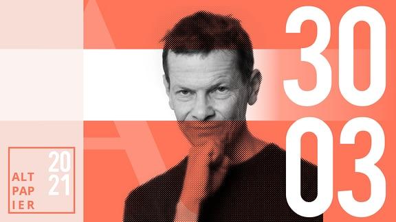 Teasergrafik Altpapier vom 30. März 2021: Porträt Autor Christian Bartels