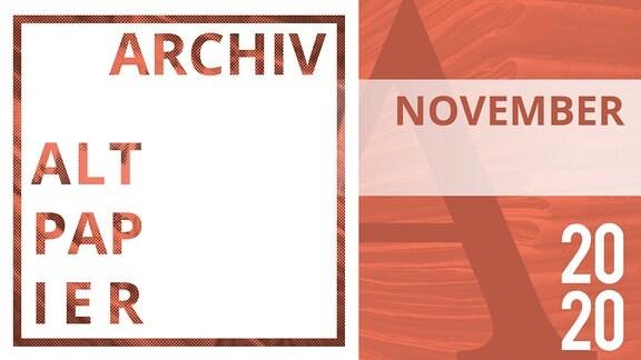 Teasergrafik Altpapier Archiv November 2020