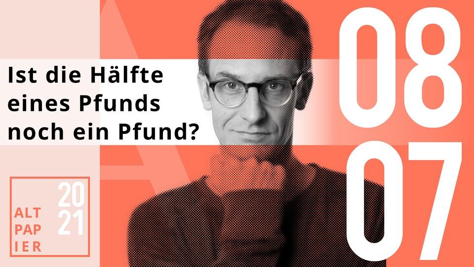 Das Altpapier am 8. Juli 2021: Ist die Hälfte eines Pfunds noch ein Pfund?   MDR.DE