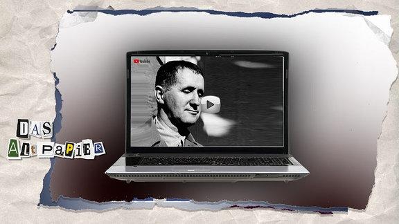 Teasergrafik Altpapier vom 5. Juni 2019: Berthold Brecht auf Youtube
