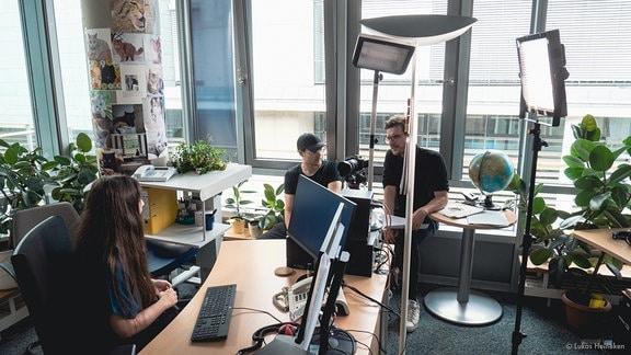 """Making of """"Ausbildung als Fachangestellte für Medien- und Informationsdienste im MDR"""""""