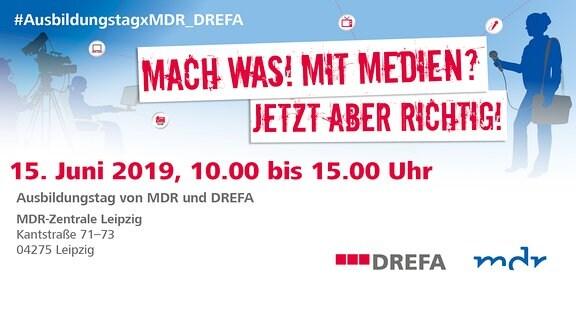 Ausbildungstag von MDR und DREFA am 15.06.2019