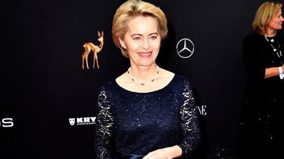 Ursula von der Leyen bei der 71. Bambi-Verleihung