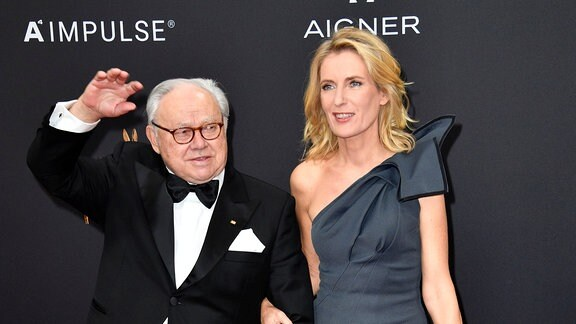 Hubert Burda und Maria Furtwängler bei der 71. Bambi-Verleihung