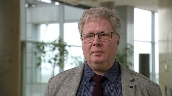 Prof. Dr. Thomas Kahlisch, Direktor der Deutschen Zentralbücherei für Blinde (DZB)