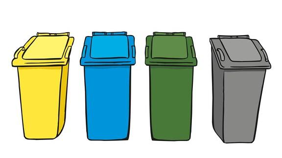 Müll-Tonnen