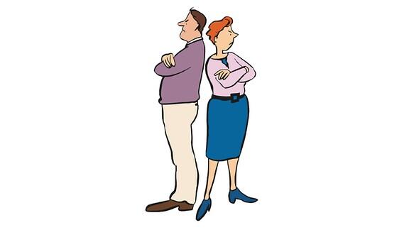 Paar-Streit