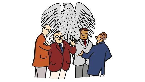 Politiker-mehrere