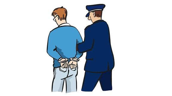 Polizei-Festnahme