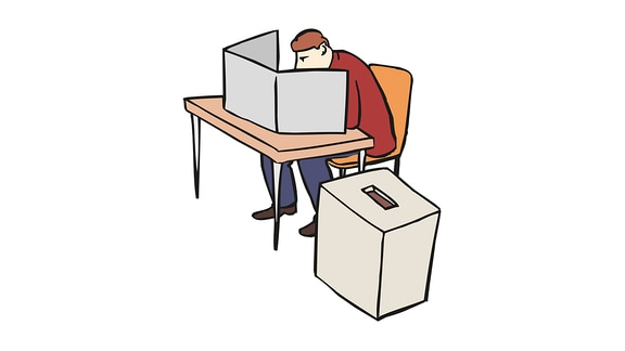 Wahl-geheim