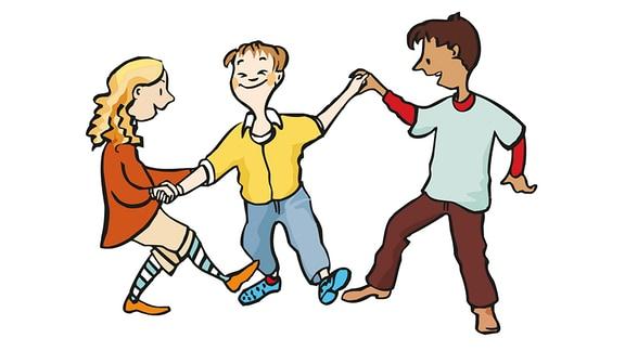 tanzen-Kinder