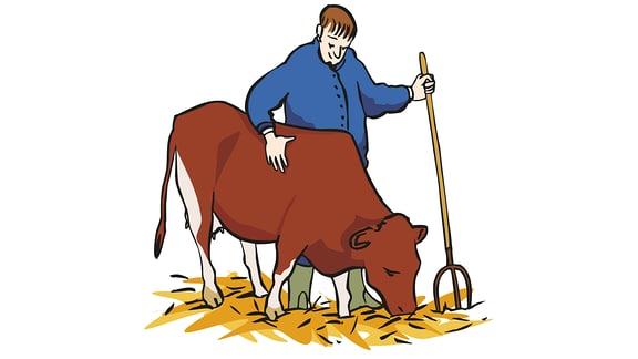 Arbeit-Landwirtschaft