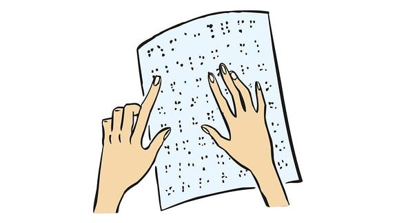 Blinden-Schrift