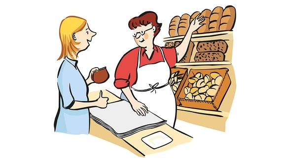 einkaufen-Bäckerei