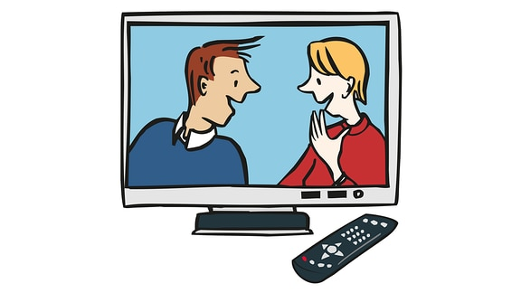 Fernseher-an