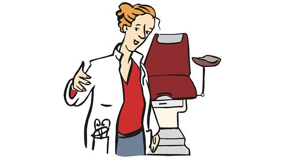 Frauen-Ärztin