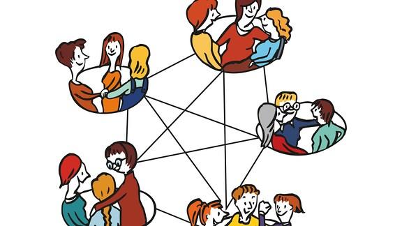 Frauen-Netzwerk