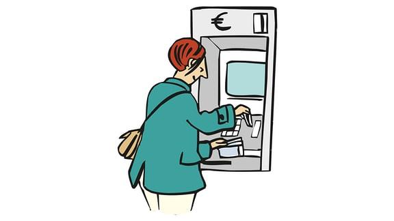 Geld-Automat
