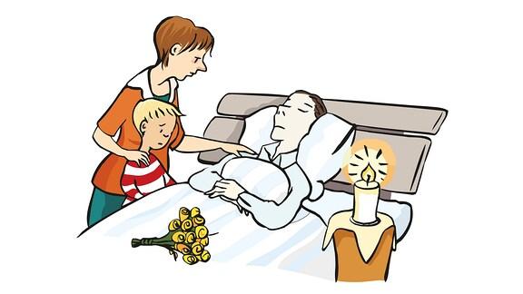Hospiz-Abschied