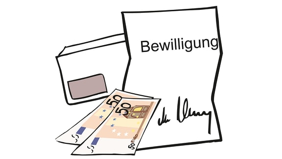 Kosten-Bewilligung