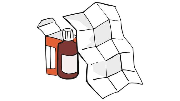 Medikament-Beipackzettel