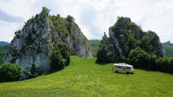 03 Klettern, Biwak-Team im Kletterparadies