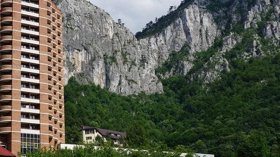 08 Klettern, die Kalkwände von Herkulesbad