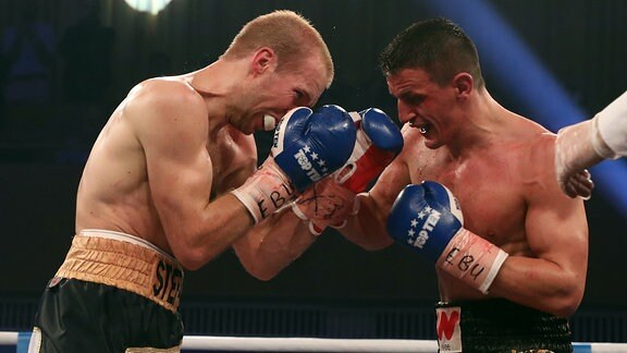 Robin Krasniqi (75,8 kg / GER) vs. Stefan Härtel (75,8 kg / GER)
