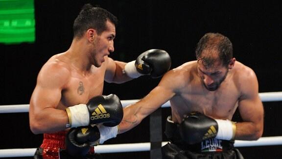 Boxkampf Jack Culcay gegen Stefano Castellucci