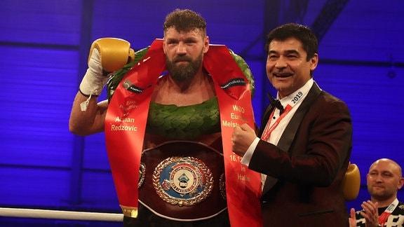 Erik Pfeifer gegen Adnan Redzovic - Heavyweight