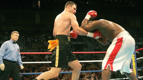 Vitali Klitschko gegen Danny Williams, 2004
