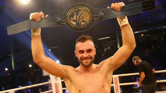 Titelverteidiger und neuer Europameister Dominic Bösel