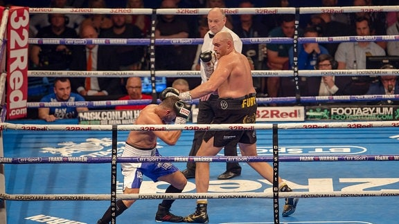 Tyson Fury vs Sefer Seferi