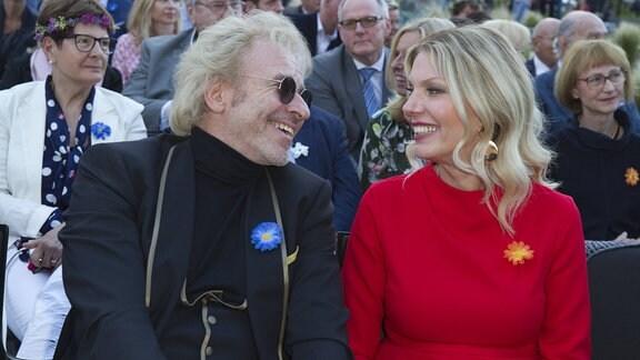 Thomas Gottschalk und Freundin Karina Mross