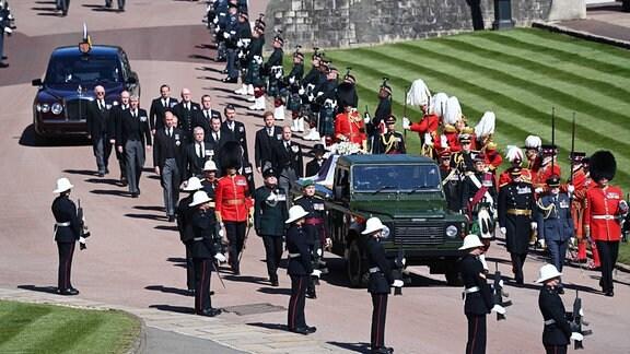 Beerdigung Prinz Philip
