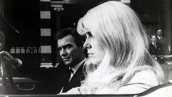 John Fraser und Catherine Deneuve, 1964