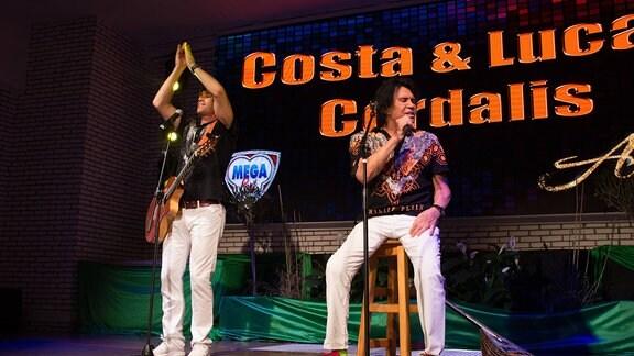 Lucas und Costa Cordalis