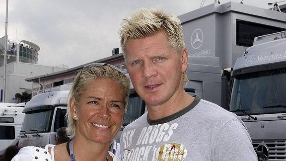 Stefan Effenberg und Claudia Strunz