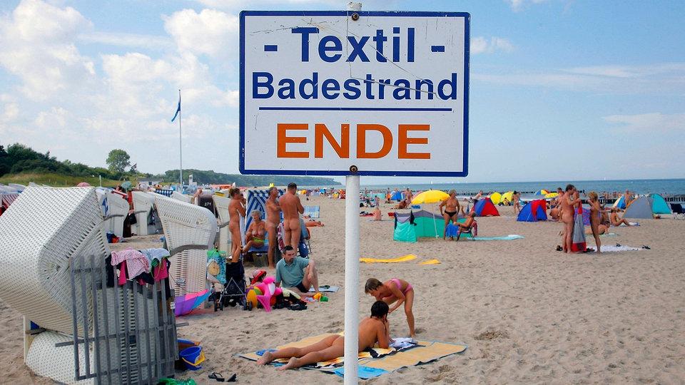 Strand am deutsche nackt paare FKK Bilder