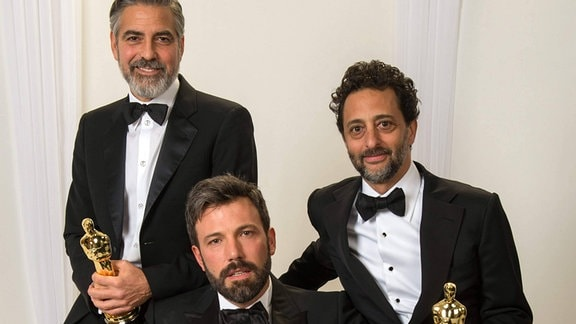 George Clooney, Ben Affleck und Grant Heslov