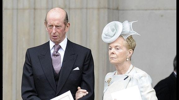 Edward, Herzog von Kent und Katherine