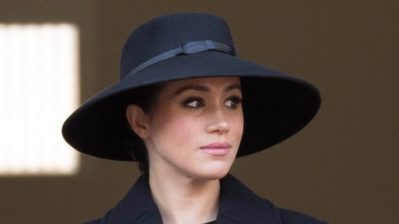 Herzogin Meghan beim Remembrance Sundy