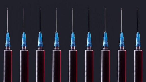 Impf-Spritzen