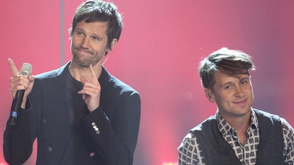 Jason Orange und Mark Owen, Take That