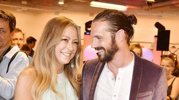 Jenny Elvers mit Freund Simon Lorinser